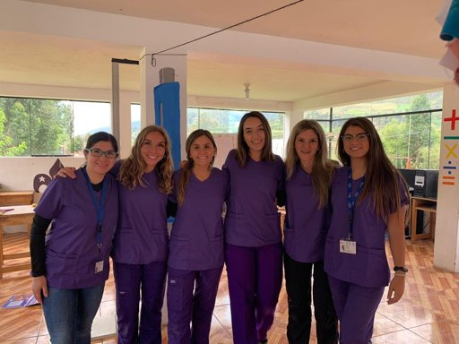 Medical volunteer in Peru
