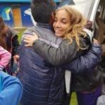 Volunteer in peru with children
