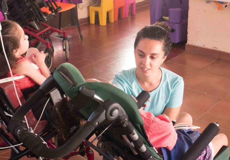 Special needs volunteer