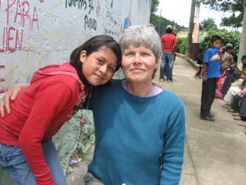 Senior volunteer abroad
