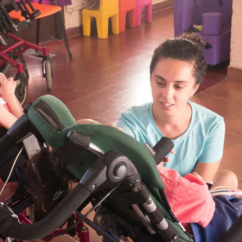 volunteer in special needs